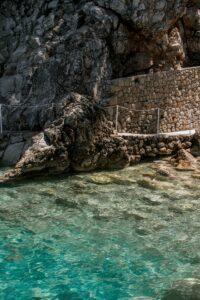 Glasklares Wasser - Schnorchel in Kroatien
